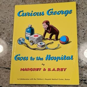 2 for $8 or $5 Each Book Curious George Goes To